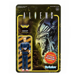 ALIENS WAVE 1 FIGURINE REACTION BISHOP 10 CM - SUPER7