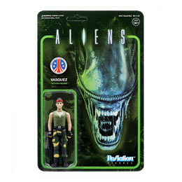 ALIENS WAVE 1 FIGURINE REACTION VASQUEZ 10 CM - SUPER7