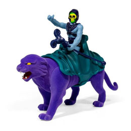 MASTERS OF THE UNIVERSE PACK 2 FIGURINES REACTION SKELETOR & PANTHOR 10 CM