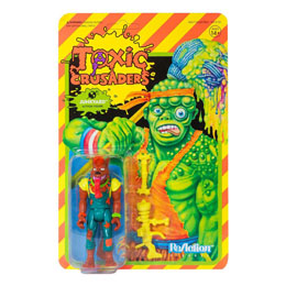 FIGURINE SUPER7 TOXIC CRUSADERS WAVE 1 REACTION  JUNKYARD 10 CM