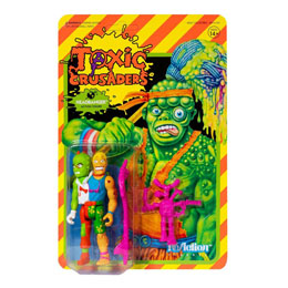 FIGURINE SUPER7 TOXIC CRUSADERS WAVE 1 REACTION  HEADBANGER 10 CM