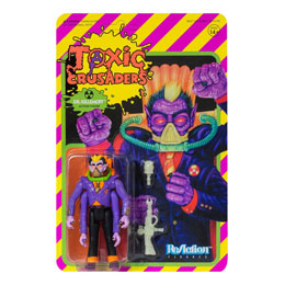 FIGURINE SUPER7 TOXIC CRUSADERS WAVE 1 REACTION DR. KILLEMOFF 10 CM