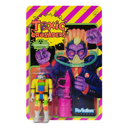 FIGURINE SUPER7 TOXIC CRUSADERS WAVE 1 REACTION RADIATION RANGER 10 CM