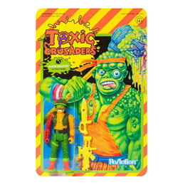 FIGURINE SUPER7 TOXIC CRUSADERS WAVE 1 REACTION MAJOR DISASTER 10 CM