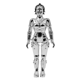 METROPOLIS FIGURINE SUPER7 REACTION MARIA (VAC METAL SILVER)