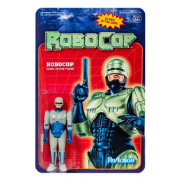 ROBOCOP FIGURINE REACTION ROBOCOP (GLOW IN THE DARK) 10 CM