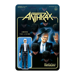 ANTHRAX FIGURINE REACTION AMONG THE LIVING 10 CM - SUPER7