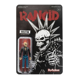 RANCID FIGURINE REACTION SKELETIM 10 CM - SUPER7