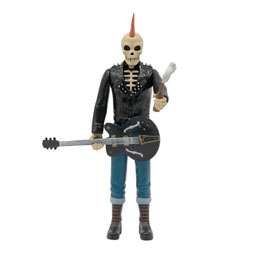 Photo du produit RANCID FIGURINE REACTION SKELETIM 10 CM - SUPER7 Photo 1