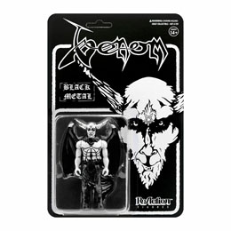 VENOM FIGURINE REACTION BLACK METAL 10 CM - SUPER7