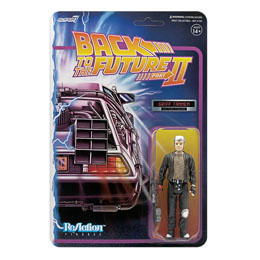 RETOUR VERS LE FUTUR FIGURINE SUPER7 REACTION GRIFF TANNEN 10 CM