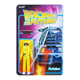 FIGURINE REACTION SUPER7 RETOUR VERS LE FUTUR RADIATION MARTY 10 CM
