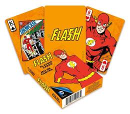 DC Comics jeu de cartes à jouer Retro Flash