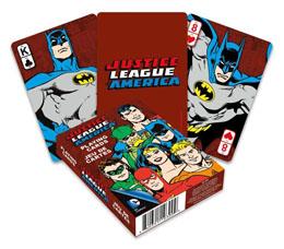 DC Comics jeu de cartes à jouer Retro Justice League