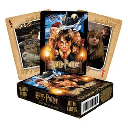 Harry Potter jeu de cartes à jouer Harry Potter à l'école des sorciers