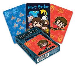 Harry Potter jeu de cartes à jouer Chibi