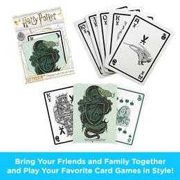 Photo du produit Harry Potter jeu de cartes à jouer Serpentard Photo 1