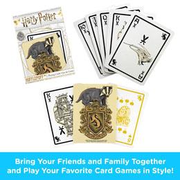 Photo du produit Harry Potter jeu de cartes à jouer Poufsouffle Photo 1