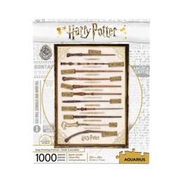 HARRY POTTER PUZZLE BAGUETTES MAGIQUES (1000 PIÈCES)