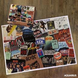 AC/DC PUZZLE ALBUMS (1000 PIÈCES)