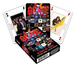 AC/DC jeu de cartes à jouer In Rock We Trust