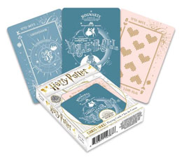 Harry Potter jeu de cartes à jouer Christmas