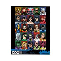 DC COMICS PUZZLE FACES (1000 PIÈCES)