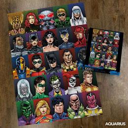 Photo du produit DC COMICS PUZZLE FACES (1000 PIÈCES) Photo 1