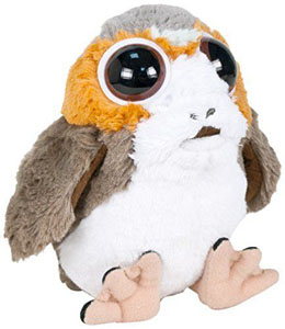 PELUCHE PORG STAR WARS EPISODE VIII SUPER DOUCE 30CM