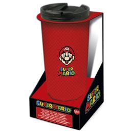 Verre thermos à café Super Mario Bros en acier inoxydable
