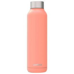BOUTEILLE/ GOURDE SOLID PASTEL ORANGE QUOKKA 630ML