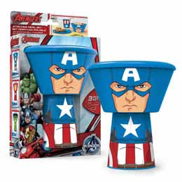 COFFRET DEJEUNER MARVEL CAPTAIN AMERICA EMPILABLE