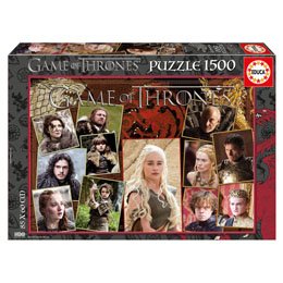 PUZZLE GAME OF THRONES 1500 PIECES