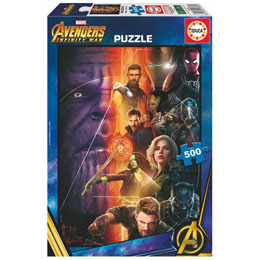 PUZZLE AVENGERS INFINITY WAR MARVEL 500 PIECES
