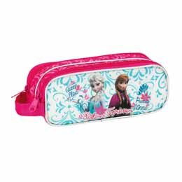 Photo du produit Trousse double Disney la reine des neiges Elsa Anna