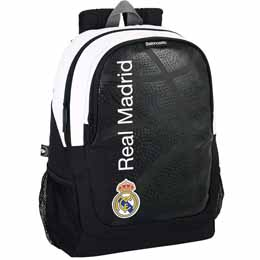 SAC A DOS REAL MADRID BASKET ADAPTABLE 44CM