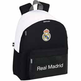 SAC A DOS REAL MADRID BASKET 40CM