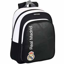 SAC A DOS REAL MADRID BASKET 34CM