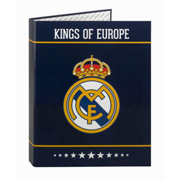 CLASSEUR REAL MADRID KINGS OF EUROPE