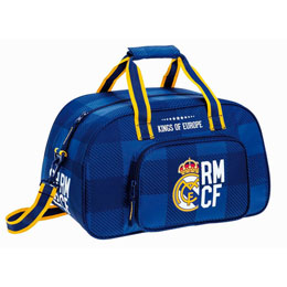 SAC DE SPORT REAL MADRID BLUE 40CM