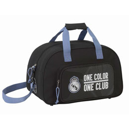SAC DE SPORT REAL MADRID BLACK SINCE 1902 40 CM