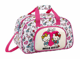 SAC DE SPORT HELLO KITTY GIRL GANG 40CM