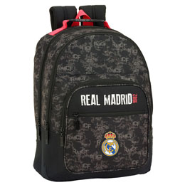 SAC A DOS REAL MADRID BLACK 42 CM