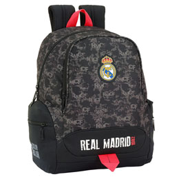 SAC A DOS REAL MADRID BLACK 43 CM