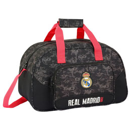 SAC DE SPORT / FOOTBALL REAL MADRID BLACK 40 CM