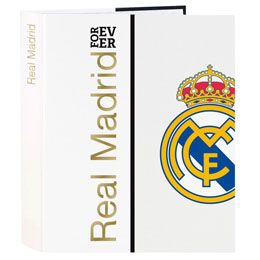 CLASSEUR REAL MADRID FOREVER A4