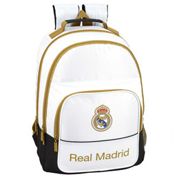 SAC A DOS REAL MADRID ADAPTABLE 42CM