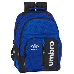 SAC A DOS UMBRO BLACK & BLUE ADAPTABLE 42CM
