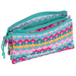 Photo du produit TROUSSE BENETTON ZIG ZAG TRIPLE Photo 1
