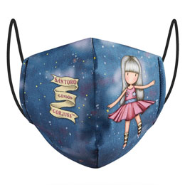 MASQUE RÉUTILISABLE DANCING AMONG THE STARS GORJUSS 6/9 ANS